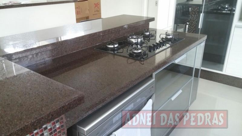 Preferência Granito Café Imperial (Marrom) - Adnei das Pedras CV53