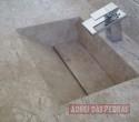 Lavatório Esculpido em Travertino