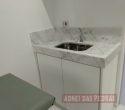 Lavabo para consultório em Mármore Carrarinha