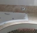 Banheira em Mármore Travertino.