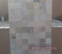 Pedra Serrada 3 D tamanho 0.10 x 0.10. Cor: Mesclado.