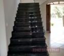 Escada em Granito Verde Ubatuba.