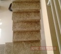Escada em Granito Branco Dallas.