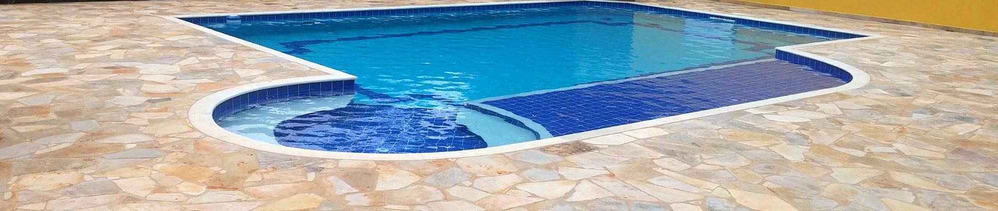 Calçadas para piscinas